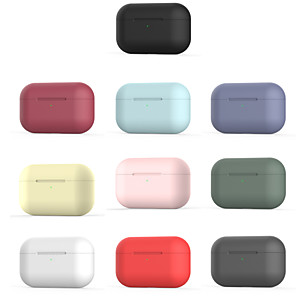 cheap Earphone Accessories-AirPods Pro Case Silica gel soft shell Anti-fall Pattern Portable For AirPods Pro  AirPods Charging Case Not Included