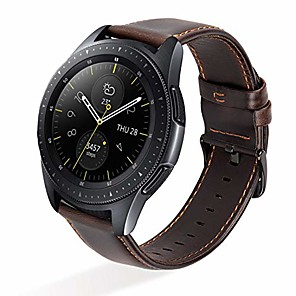 cheap Smartwatch Bands-Smartwatch Band for Garmin Vivomove / Vivomove HR / Vivomove APAC/ Garmin Move Leather Loop Genuine Leather band 20MM Wrist Strap