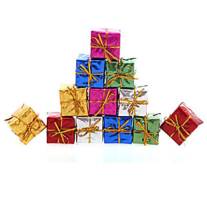 cheap Christmas Decorations-12PCS Christmas Decoration Gifts Role Ofing Christmas Tree Ornaments Christmas Gift Color Random
