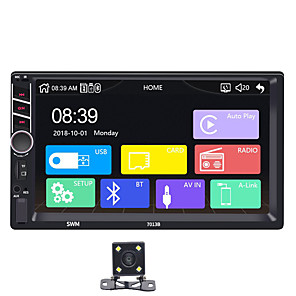 cheap Car DVD Players-SWM 7013 Carplay 4LED camera 7 inch 2 DIN Windows CE Car MP5 Player / Car Multimedia Player Touch Screen / Built-in Bluetooth for Volkswagen Support MP3 / Mini USB / WMV / RM