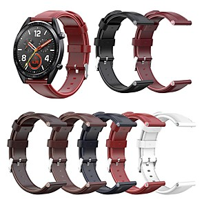 cheap Smartwatch Bands-Watch Band for Huawei Watch GT / Huawei Watch GT 2 Huawei Business Band Genuine Leather Wrist Strap