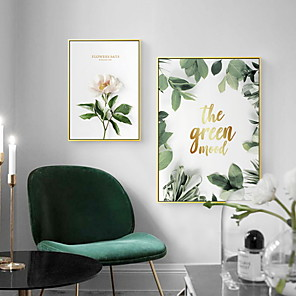 cheap Framed Arts-Prints - Botanical PS Illustration Wall Art