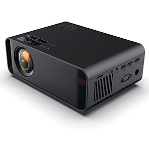cheap Projectors-W80 HD Home Projector HDMI/AV/USB/SD/VGA Support Dolby Sound Basic Edition Euro Regulation Support 4K video BeamerFul Lumens HD