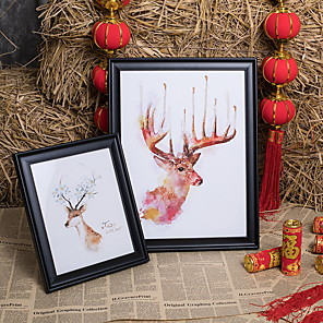 cheap Framed Arts-Modern Contemporary Resin Shiny Picture Frames, 1pc