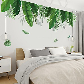 cheap Wall Stickers-Floral / Botanical Wall Stickers Plane Wall Stickers Decorative Wall Stickers, PVC Home Decoration Wall Decal Wall Decoration 1pc