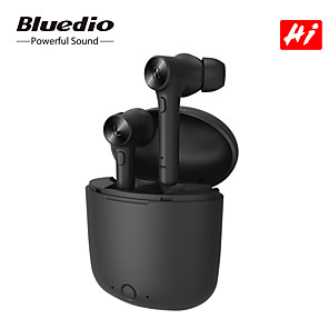 cheap TWS True Wireless Headphones-Bluedio Hi TWS True Wireless Earbuds Bluetooth 5.0 Earphone for Smart Phone Android iOS Stereo Sport Headset with Charging Box Built-in Microphone