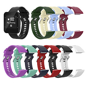cheap Smartwatch Bands-Silicone Sport Watch Band Strap For Garmin Forerunner 35/Forerunner 30