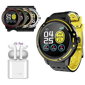 cheap Smartwatches-Indear V5 Men Women Smart Bracelet Smartwatch Android iOS TWS Wireless Bluetooth Headset