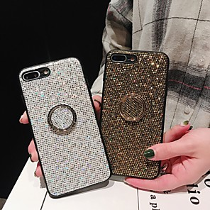 cheap iPhone Cases-Case For Apple iPhone 11 / iPhone 11 Pro / iPhone 11 Pro Max Ring Holder / Glitter Shine Back Cover Glitter Shine TPU