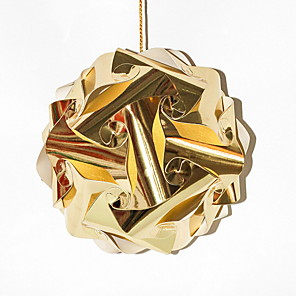 cheap Christmas Decorations-Holiday Decorations New Year's Decorative Objects Novelty Gold 1pc
