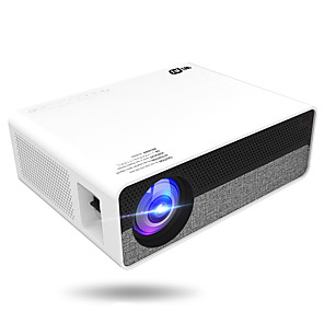 cheap Projectors-HoDieng Full HD 1080P Physical Resolution Android 8.0 OS Video Projector With 5G WIFI Support 4K LED Projector HD099