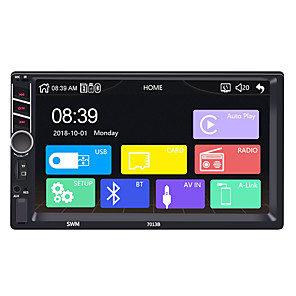 cheap Car DVD Players-SWM 7013 Carplay 7 inch 2 DIN Windows CE 6.0 In-Dash Bluetooth Car DVD Player / Car Multimedia Player / Car MP5 Player Support AVI / MPG / PMP MP3 / WMA / WAV / TF Card for Universal