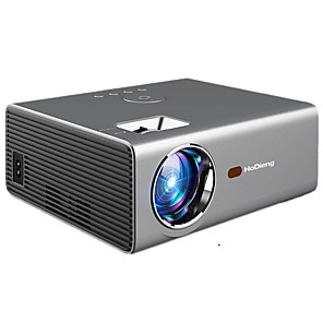 cheap Projectors-HoDieng HDG825 LED Projector HD 1280*720P Android 6.0OS 3800 Lumens Home Cinema Movie Android Projector With WIFI Bluetooth C8