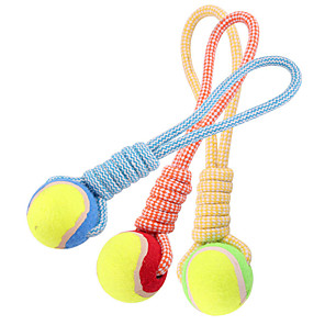cheap Dog Toys-Chew Toy Teeth Cleaning Toy Dog Toy Pet Toy Rope Rubber Gift