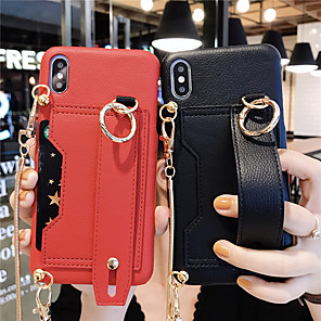 cheap iPhone Cases-Case For Apple iPhone 11 / iPhone 11 Pro / iPhone 11 Pro Max with Stand Back Cover Solid Colored PU Leather