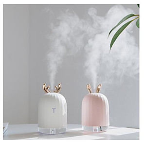 cheap Humidifiers-High Quality 220ML Ultrasonic Air Humidifier Aroma Essential Oil Diffuser for Home Car USB Fogger Mist Maker with LED Night Lamp