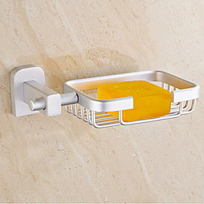 cheap Bathroom Gadgets-Soap Dishes & Holders Creative / Multifunction Contemporary Aluminum 1pc Wall Mounted