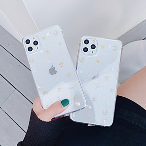 cheap iPhone Cases-Case For Apple iPhone 11 / iPhone 11 Pro / iPhone 11 Pro Max Transparent / Pattern Back Cover Transparent TPU
