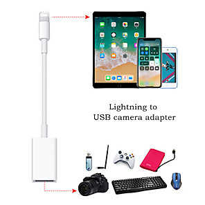 cheap USB Cables-OTG Cable Data Converter for iPhone iPad Keyboard Connector USB Cable Earphones Converter Electric Piano for iPhone Adapter