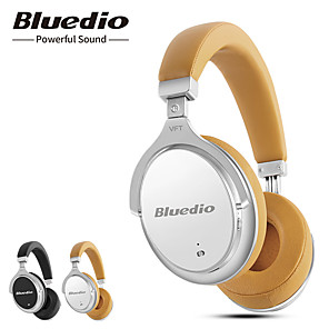 cheap On-ear & Over-ear Headphones-Bluedio F2 Active Noise Cancelling Wireless Bluetooth Headphones ANC Wireless Headset with Microphone for Phones
