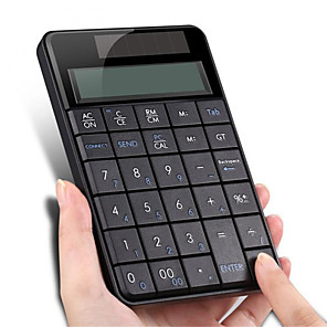 cheap CCTV Cameras-Wireless 2.4 G USB Numeric Keyboard with Screen Calculator Business