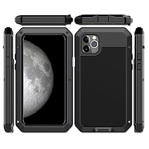 cheap iPhone Cases-Case For Apple iPhone 11 / iPhone 11 Pro / iPhone 11 Pro Max Shockproof / Dustproof / Water Resistant Back Cover Armor Metal / Aluminium