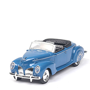cheap Toy Cars-1:38 Toy Car Vehicles Car Shopping Cart Classic Car Glow New Design Exquisite Zinc Alloy Rubber Mini Car Vehicles Toys for Party Favor or Kids Birthday Gift