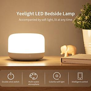 cheap Smart Lights-Yeelight YLCT01YL Colorful LED Bedside Lamp Intelligent Dimmable Night Light APP Control Apple HomeKit (Xiaomi Ecosystem Product)