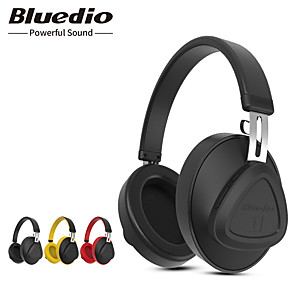 cheap On-ear & Over-ear Headphones-Bluedio TM Wireless Bluetooth Headphone with Microphone Monitor Studio Headset for Music and Phones Support Voice Control