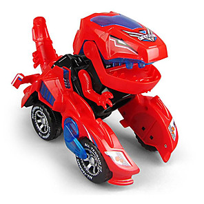 cheap RC Cars-Stress Reliever Dinosaur Transformable Glow Parent-Child Interaction Plastic Shell For Kid's Child's All