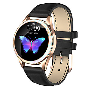 cheap Smart Wristbands-KW20 Smartwatch Stainless Steel BT Fitness Tracker Support Notify/ Heart Rate Monitor Sport Waterproof Smart Watch for Samsung/ Iphone/ Android Phones