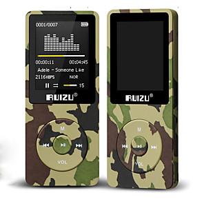 cheap MP3 player-HODIENG RUIZU X02 Ultrathin Mp3 Player Usb 16GB 32GB 64GB Storage 1.8 Inch Screen Play 80h High Quality Radio Fm E-Book Music Player