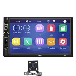 abordables Reproductores DVD para Coche-SWM A7+4Led camera 7 pulgada 2 Din Windows CE Coche MP5 Player / Coche MP4 Player / Reproductor de MP3 para coche Pantalla Táctil / Bluetooth Integrado / Soporte SD / USB para Universal RCA / HDMI
