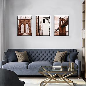 cheap Framed Arts-Framed Art Print Framed Set - Landscape Scenic PS Poster Wall Art