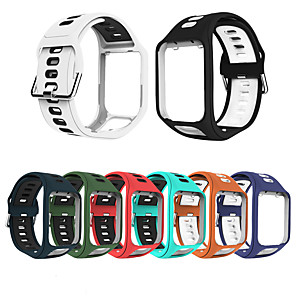 cheap Smartwatch Bands-Silicone Wristband Watch Strap For Tom Tom Spark Runner 2/3 Series For Tom Tom Golfer / Adventurer Replacement Sports Bracelet