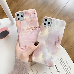 cheap iPhone Cases-Case For Apple iPhone 11 / iPhone 11 Pro / iPhone 11 Pro Max IMD / Pattern Back Cover Marble TPU