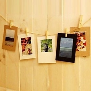 cheap Tabletop Picture Frames-Modern Contemporary Resin Shiny Picture Frames, 1pc
