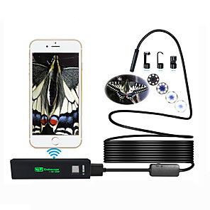 cheap Micro Cameras-Antscope 1200p Wifi Endoscope Camera for Iphone Android Borescope Waterproof Camera Endoscopic 8mm Hard Wire 2M Tube iOS 40