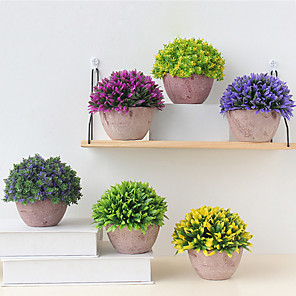 cheap Artificial Plants-Artificial Flowers 1 Branch Classic Party European Plants Tabletop Flower