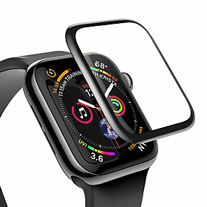 cheap Smartwatch Bands-Screen Protector for Apple Watch Series 4/5 Anti-Scratch 3D Protective Full Coverage Tempered Glass Screen Film