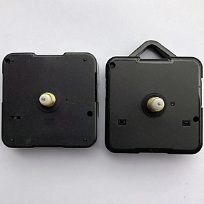 cheap Clock Parts-2pcs  Silent large wall Quartz Clock Movement Mechanism  Repair Tool Parts Kit DIY Set With Hook