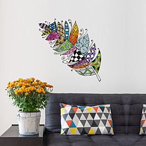 cheap Wall Stickers-Decorative Wall Stickers - Plane Wall Stickers / 3D Wall Stickers Still Life / Shapes Bedroom / Kids Room