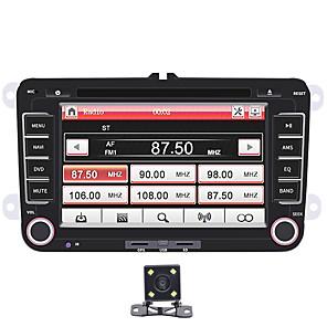 cheap Car Audio-SWM 大众-H+4Led Camera 7 inch 2 DIN Windows CE In-Dash Car DVD Player / Car MP5 Player / Car MP4 Player Touch Screen / Built-in Bluetooth / SD / USB Support for Volkswagen RCA / Mini USB / Bluetooth