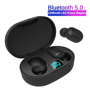 cheap TWS True Wireless Headphones-LITBest E 6s Sports Outdoor Wireless Mobile Phone Bluetooth 5.0 Noise-Cancelling with Microphone with Charging Box