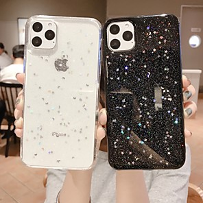 cheap iPhone Cases-Case For Apple iPhone 11 / iPhone 11 Pro / iPhone 11 Pro Max Glitter Shine Back Cover Glitter Shine TPU