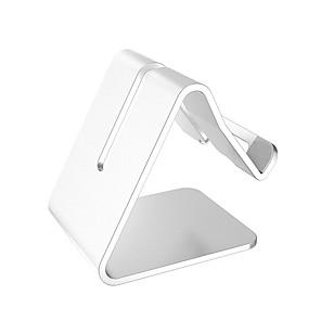 cheap Phone Mounts & Holders-Desk Mount Stand Holder Foldable Gravity Type Aluminum / Silicone Holder
