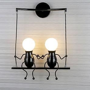 hesapli İç Mekan Duvar Işıkları-Duvar ışığı Duvar lambaları 220-240V E27 İskandinav Tarzı