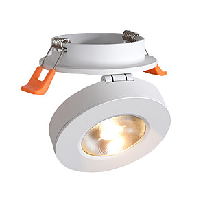 cheap LED Recessed Lights-LED Spotlights COB 10W Embedded Ceiling Lights Clothing Store Background Wall Ceiling Lights