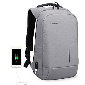 cheap Card Reader-15.6 inches External USB Charging Laptop Backpacks School Backpack Bag Men Women Travel Bags