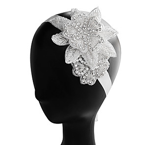 cheap Dog Clothes-Cubic Zirconia / Alloy Headbands with Rhinestone / Crystals / Lace-up 1pc Wedding / Party / Evening Headpiece